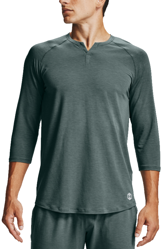 Langarm-T-Shirt Under Armour Under Armour Recover Sleepwear Henley