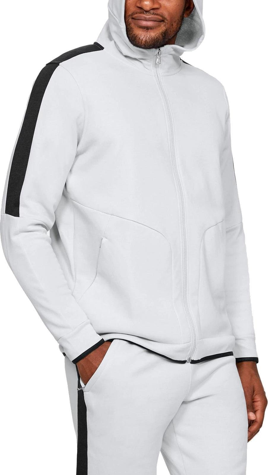 Hoodie Under Armour Athlete Recovery Fleece Full Zip