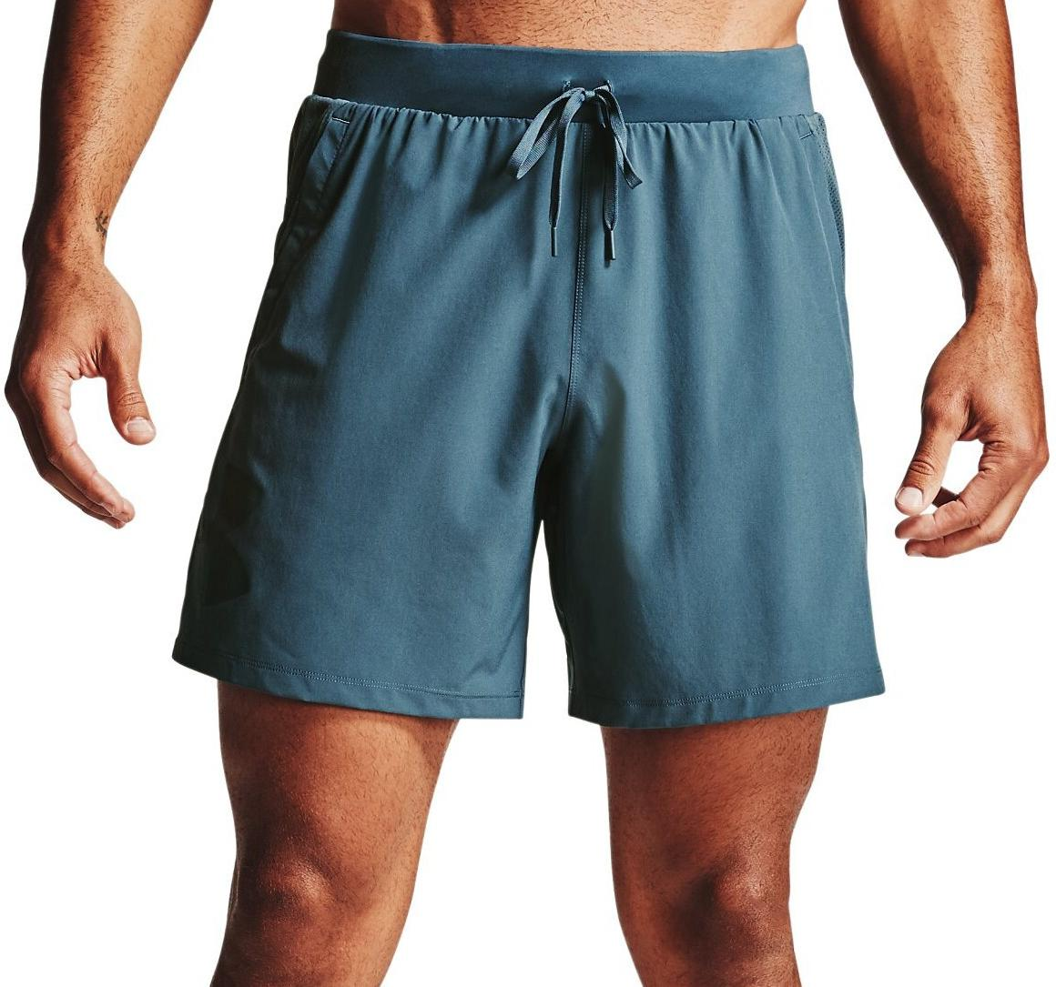Shorts Under Armour M UA Qualifier SpeedPocket 7 Linerless