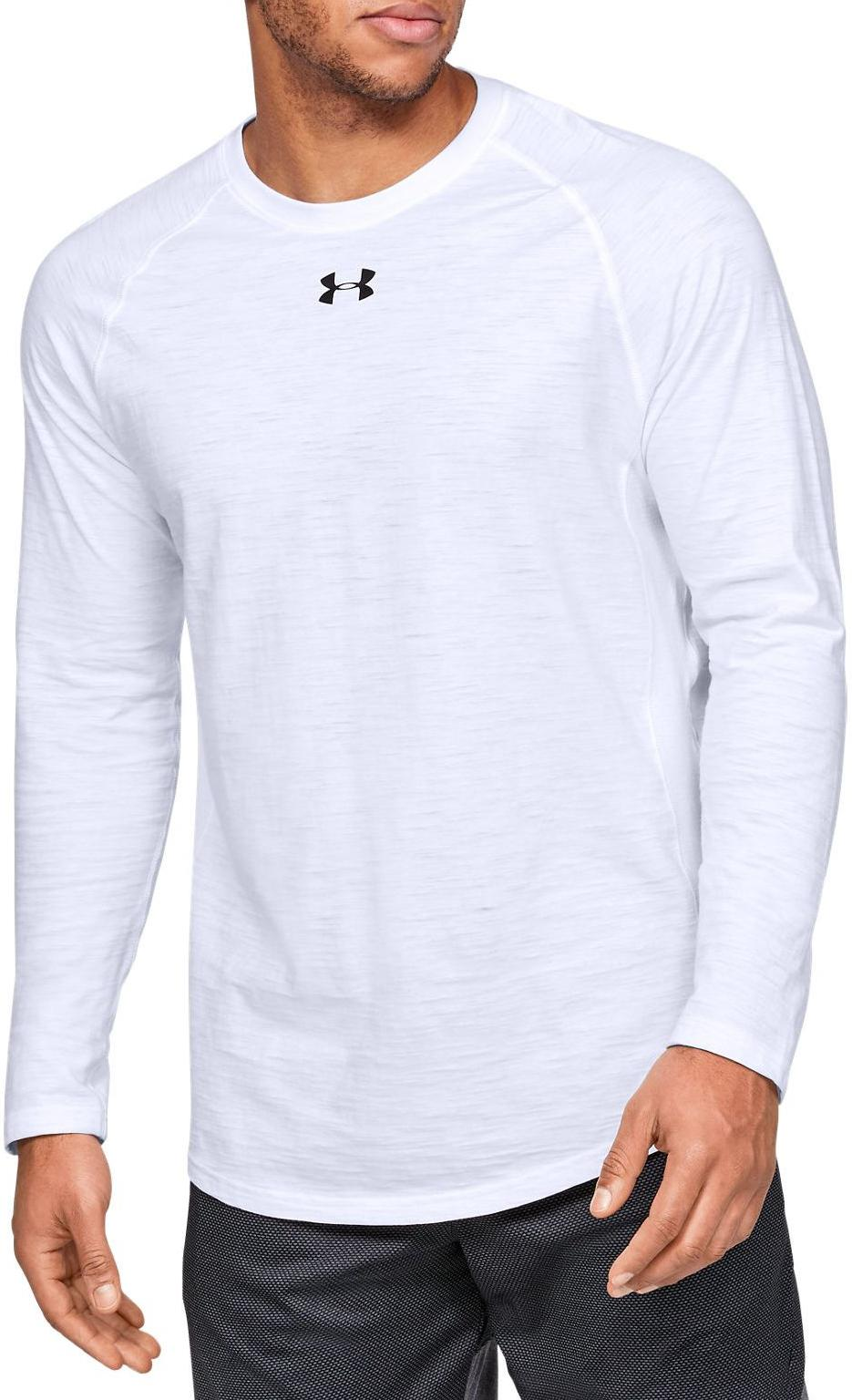 Langarm-T-Shirt Under Armour UA Charged Cotton LS