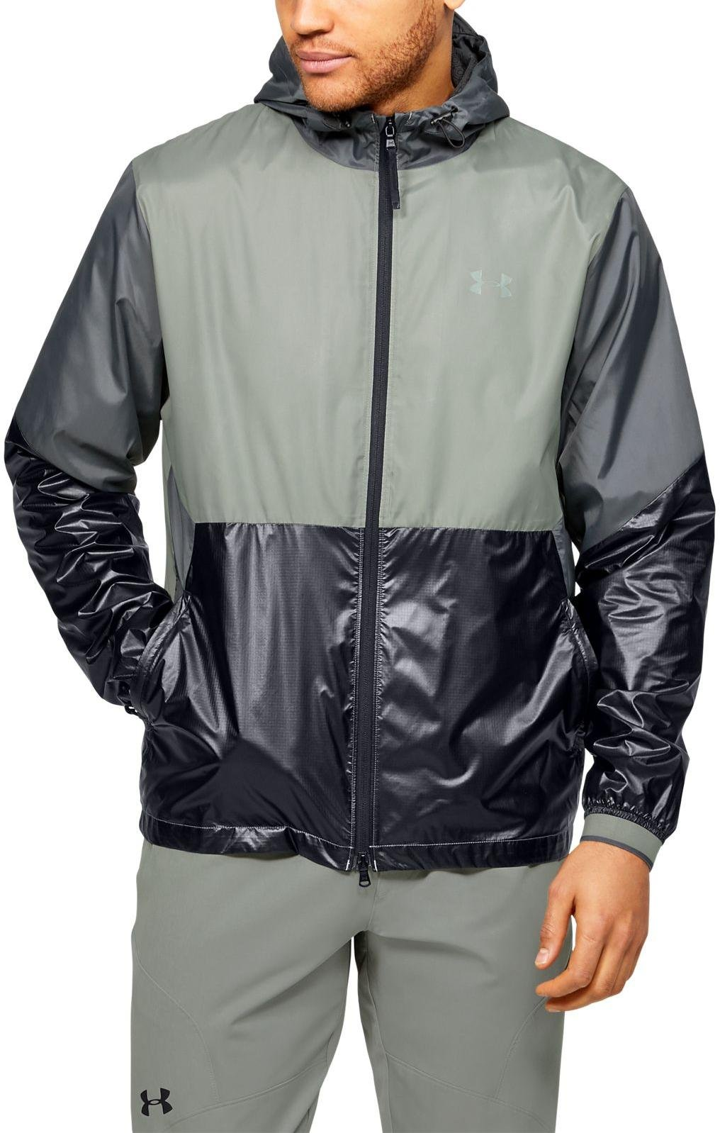 Kapuzenjacke Under Armour Under Armour RECOVER LEGACY WINDBREAKER