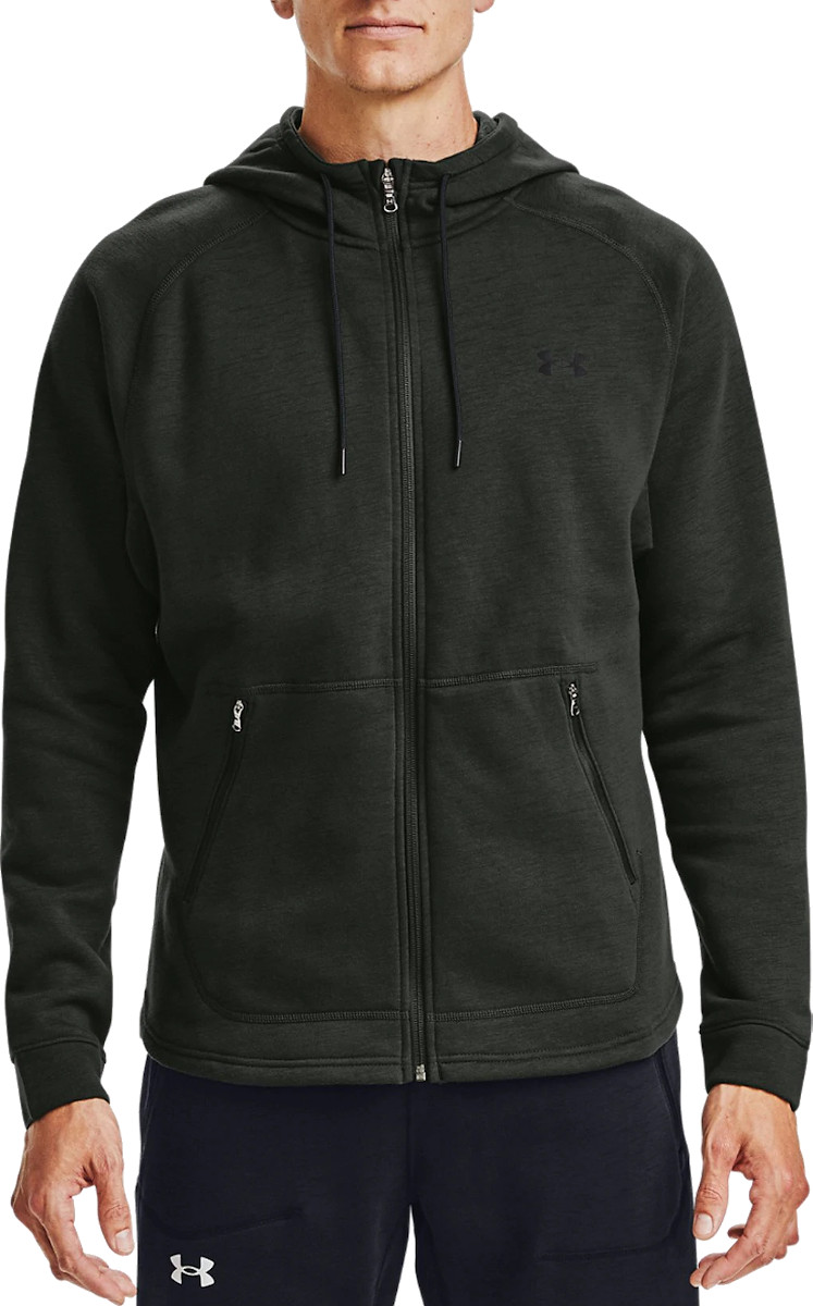 Hoodie Under Armour UA Charged Cotton FLC FZ HD