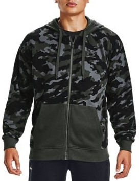 Hoodie Under Armour UA Rival Fleece Camo FZ