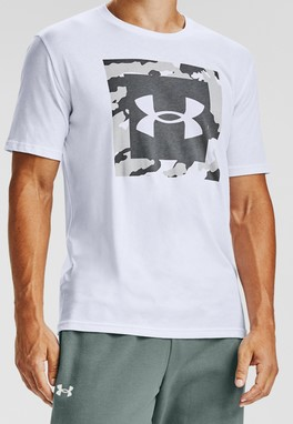 T-Shirt Under Armour UA CAMO BOX LOGO SS