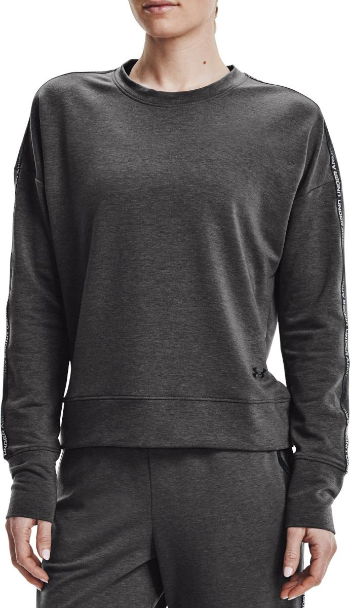 Sweatshirt Under Armour UA Rival Terry Taped Crew-GRY