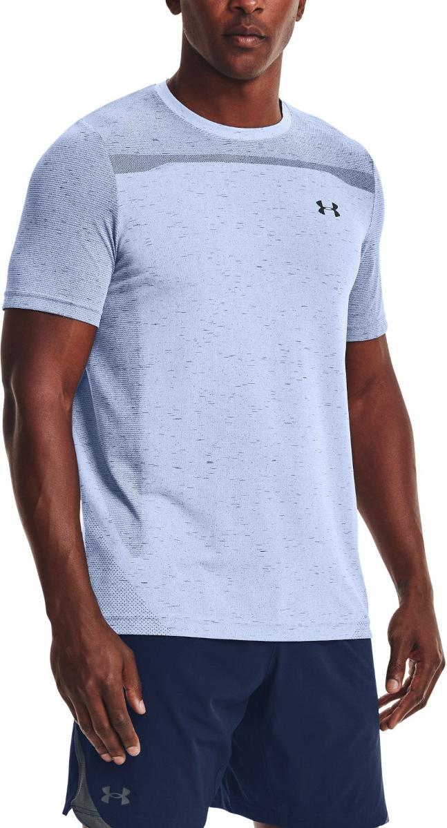 T-Shirt Under Armour UA Seamless SS-BLU